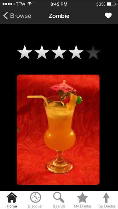 iBartender Cocktail Recipes Screenshot