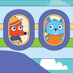 Ícone do app EduKid: Kids Airport Games