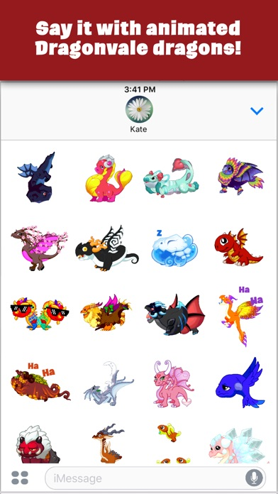 DragonVale Stickers screenshot 2