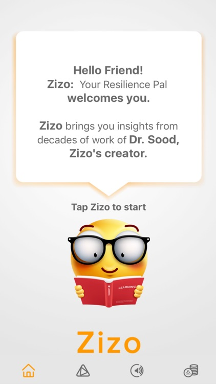 Zizo: Your Resilience Pal