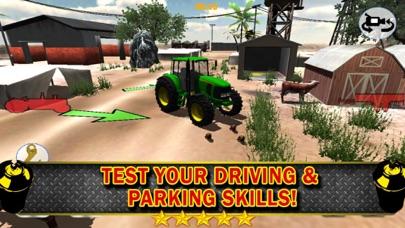 3Dファームトラクター駐車シミュレータのおすすめ画像3