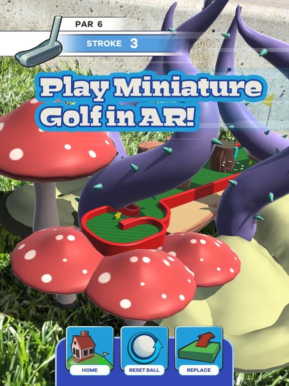 Putt Putt World - AR Mini Golf screenshot 11