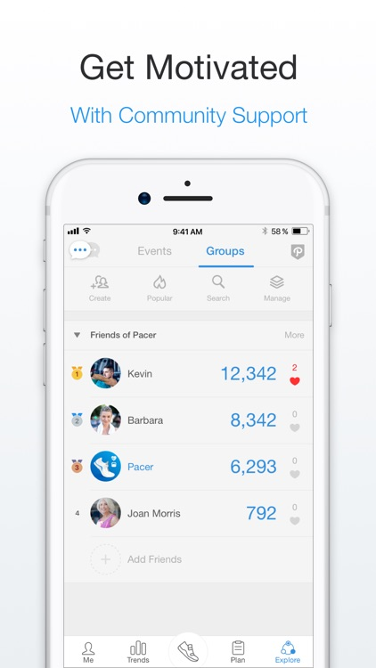 Pacer Pedometer & Step Tracker screenshot-3