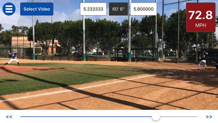 Baseball Radar Gun +