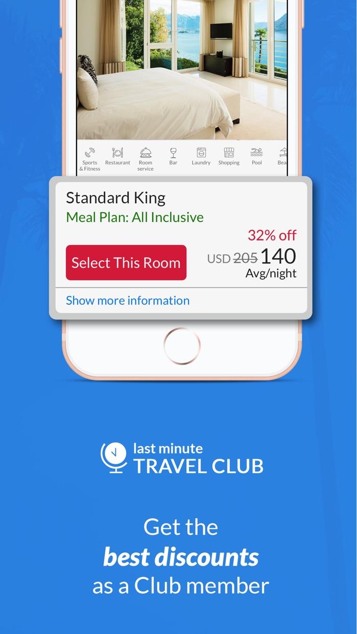 Last Minute Travel Deals Screenshot