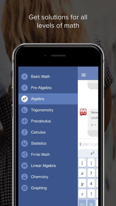 Mathway: Math Problem Solver Screenshot