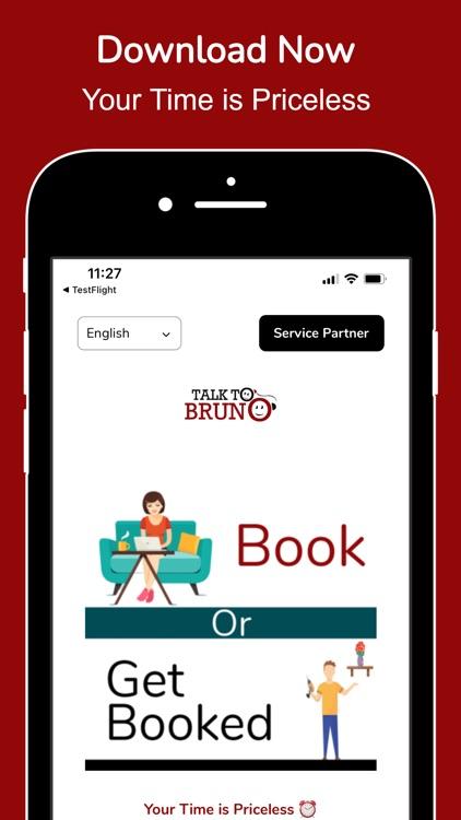 Talk To Bruno: Book Local Pros screenshot-9