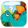 Dinosaur pet Flashcard Puzzle