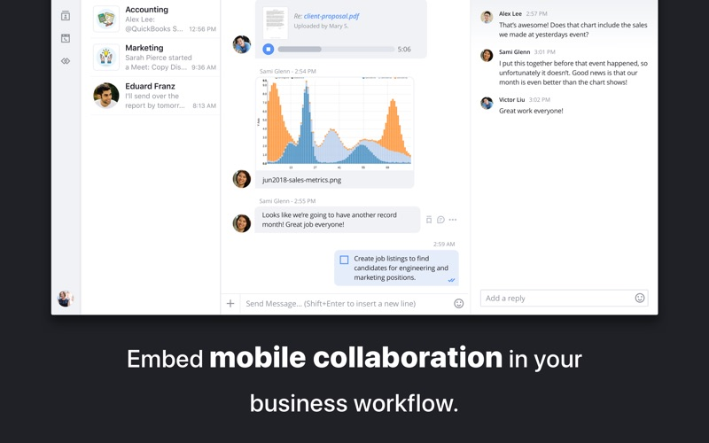 Moxtra - Business Team Collaboration for Mac