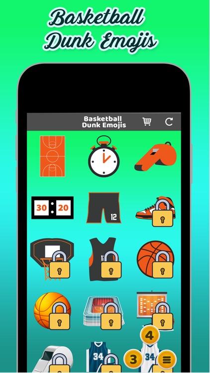 Basketball Dunk Emojis
