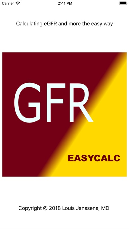 GFR EasyCalc screenshot-1
