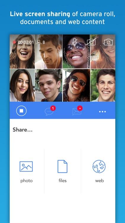 BiTSR Video Chat Screen Share screenshot-5