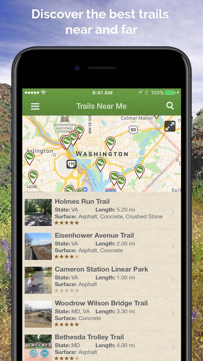 TrailLink - Bike Trails & Maps Screenshot