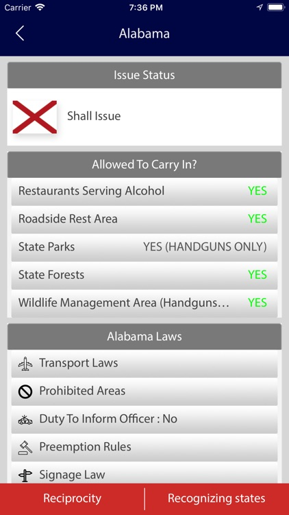Concealed Carry Laws 50 States screenshot-6