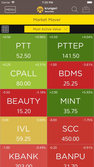 Krungsri Stock Expert screenshot four