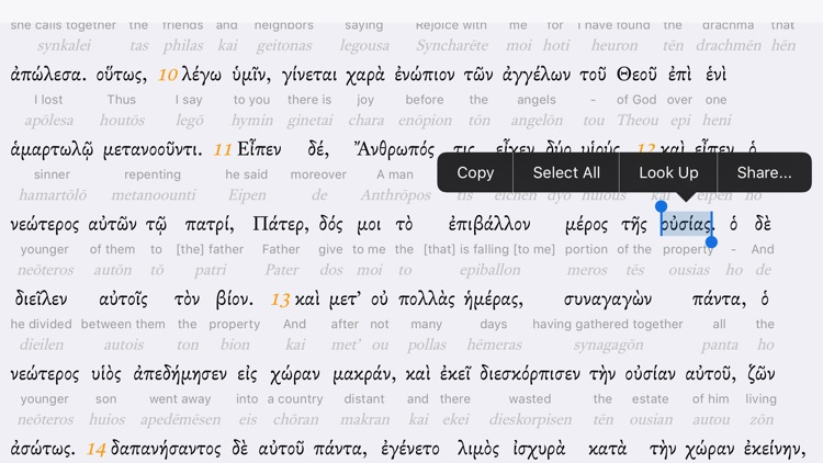 Interlinear Bible screenshot-3