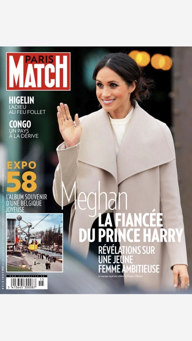 Paris Match Belgique review screenshots
