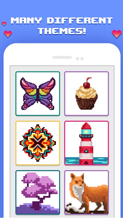 Pixelicious - Number Coloring
