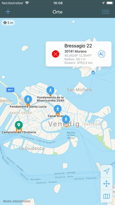 Geofency   ZeiterfassungScreenshot von 3