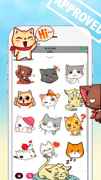 Dozen Cat Stickers