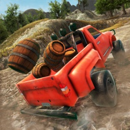 Pickup Truck Offroad Driving