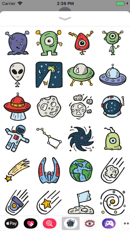 Outer Space Stickers Pro screenshot-3
