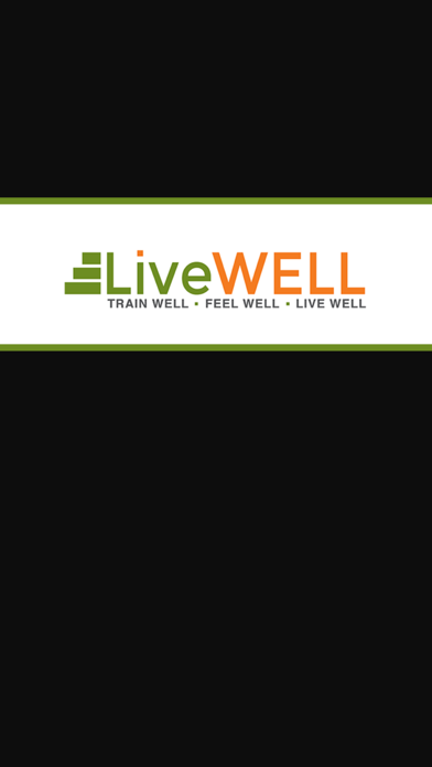 LiveWELL Training Club screenshot one