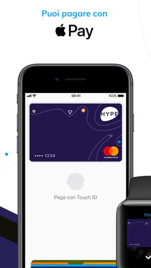 HYPE - Carta conto e app Screenshot