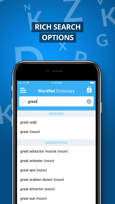 Advanced Dictionary&Thesaurus screenshot two