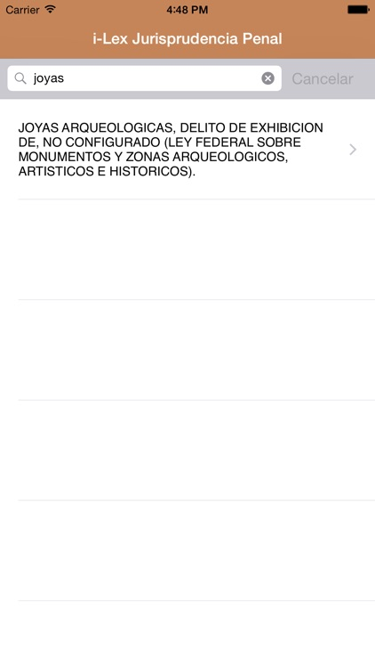 i-Lex Jurisprudencia Penal screenshot-2