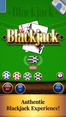 ⋅Blackjack screenshot for iPhone