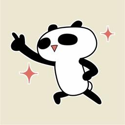 Punny Panda Bear Animated