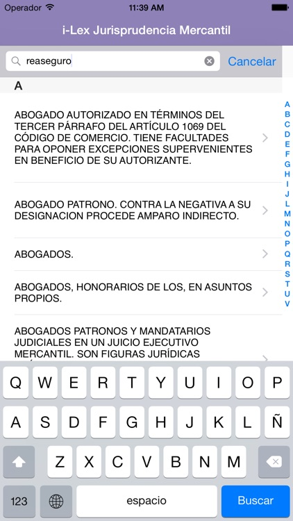 i-Lex Jurisprudencia Mercantil screenshot-1