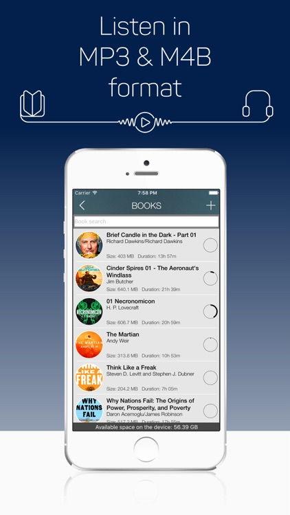 MP3 Audiobook Player screenshot-4