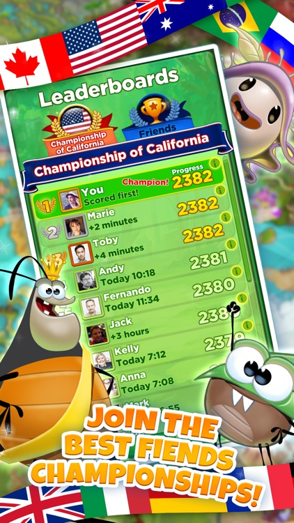 Best Fiends - Puzzle Adventure screenshot-3