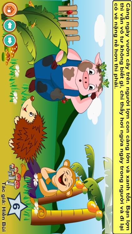 Truyện đọc: Bạn lợn lười tắm screenshot-4
