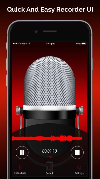 Quick Recorder: Voice Recorder