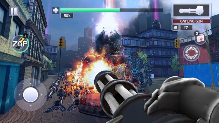 Robo X City War screenshot-3