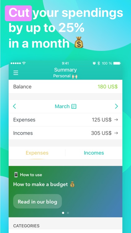 Moneon – My Budget and Expense screenshot-0