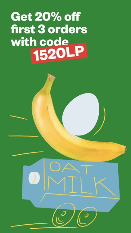 1520 - groceries in minutes