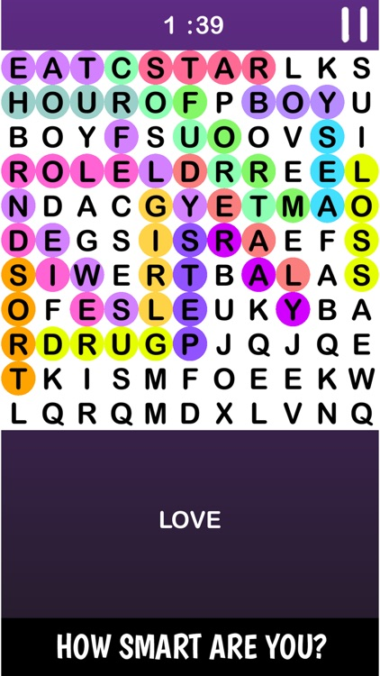 Infinte Crossword Puzzle Game screenshot-3