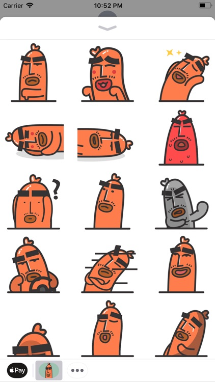 Sausage Man Animated Sticker