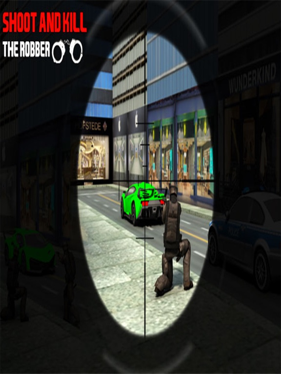 Bank Robbery 3D Police Escape-ipad-1