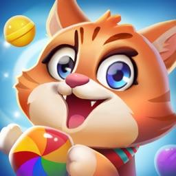 开心糖果猫 - 2021全民益智消除游戏
