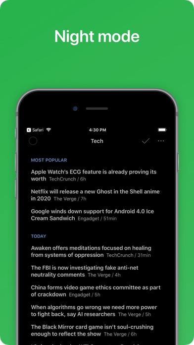 Feedly - Smart News Reader Screenshot on iOS
