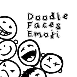 Doodle Faces Emoji Stickers