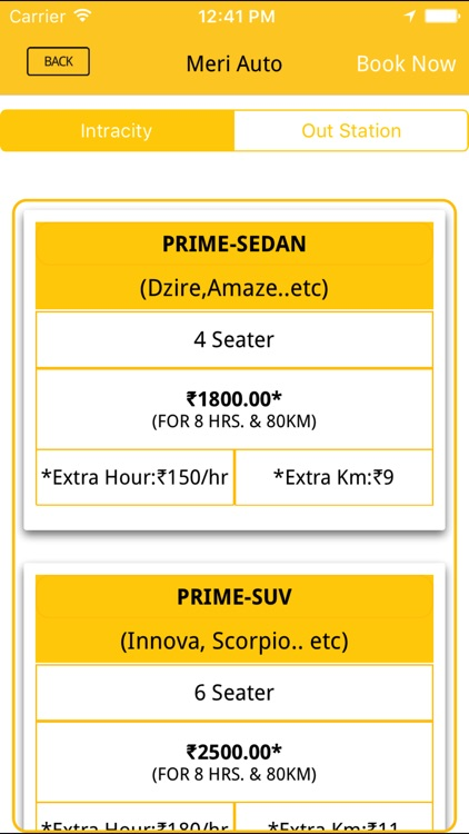 Online Booking cab - Meri auto screenshot-3