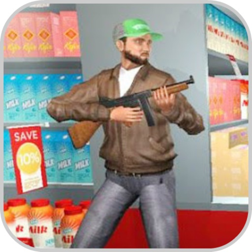Robber Shooting Gun Escape app for ipad
