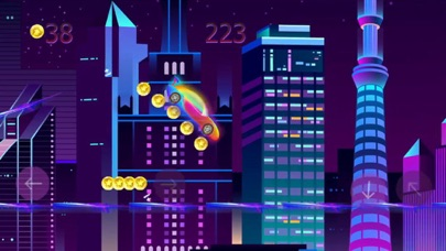 neon city: race mania Screenshot 1