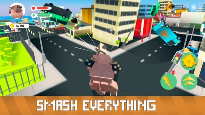 Blocky Monsters Smash screenshot 2